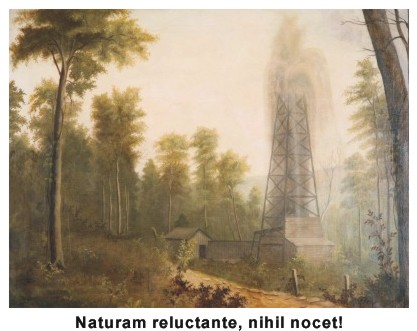 oil and nature